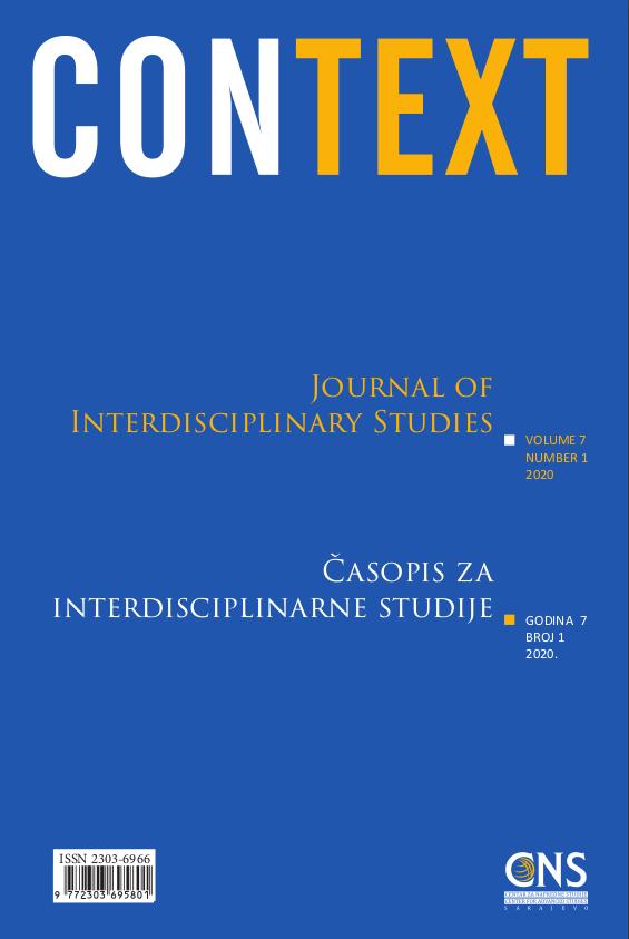 View Vol. 7 No. 1 (2020): Context: Journal of Interdisciplinary Studies