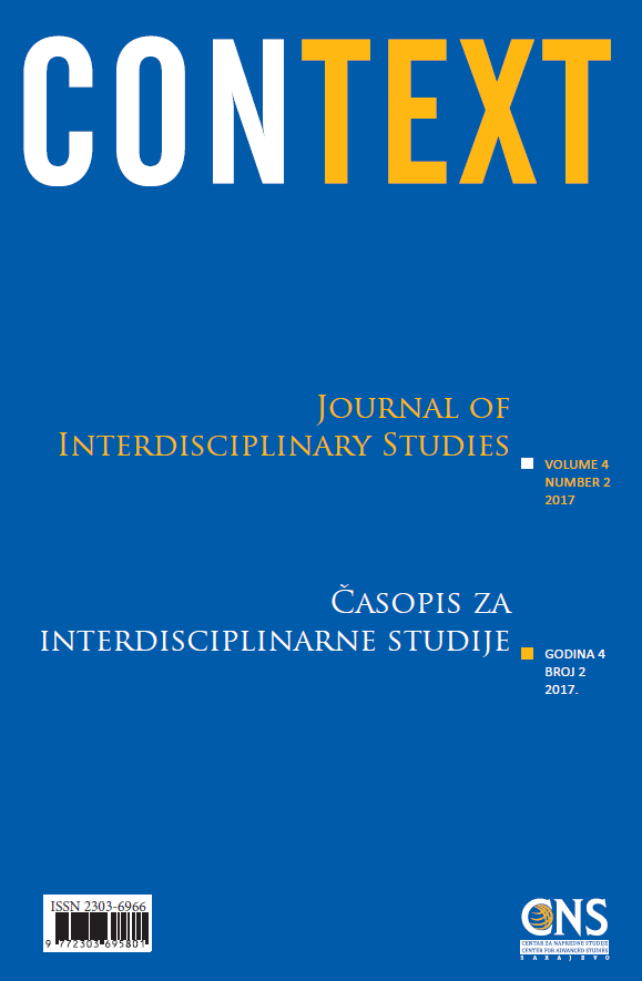 View Vol. 4 No. 2 (2017): Context: Journal of Interdisciplinary Studies