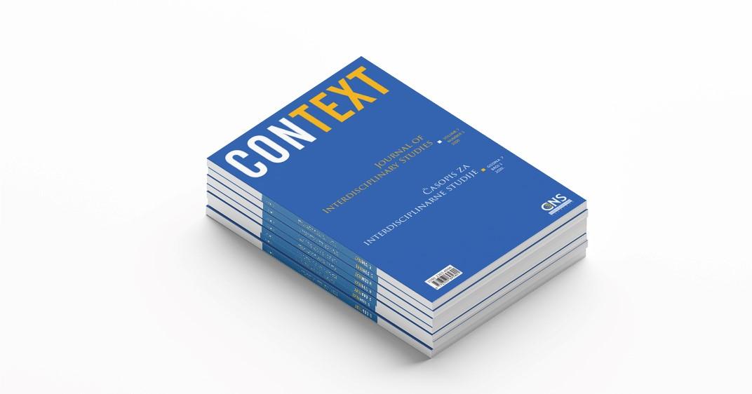 Context: Časopis za interdisciplinarne studije