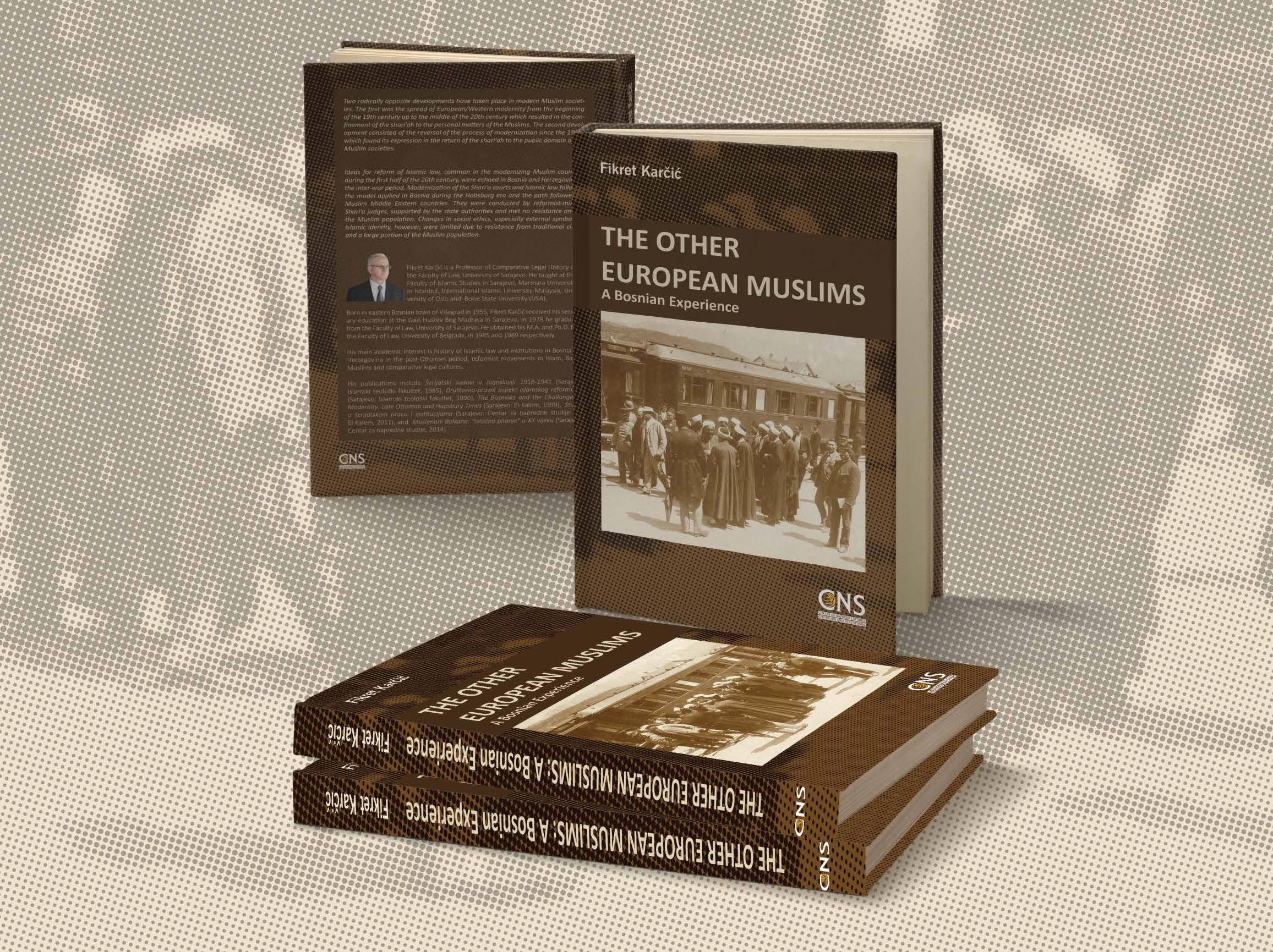 "POZIV: Promocija knjige ""The Other European Muslims: A Bosnian Experience"""