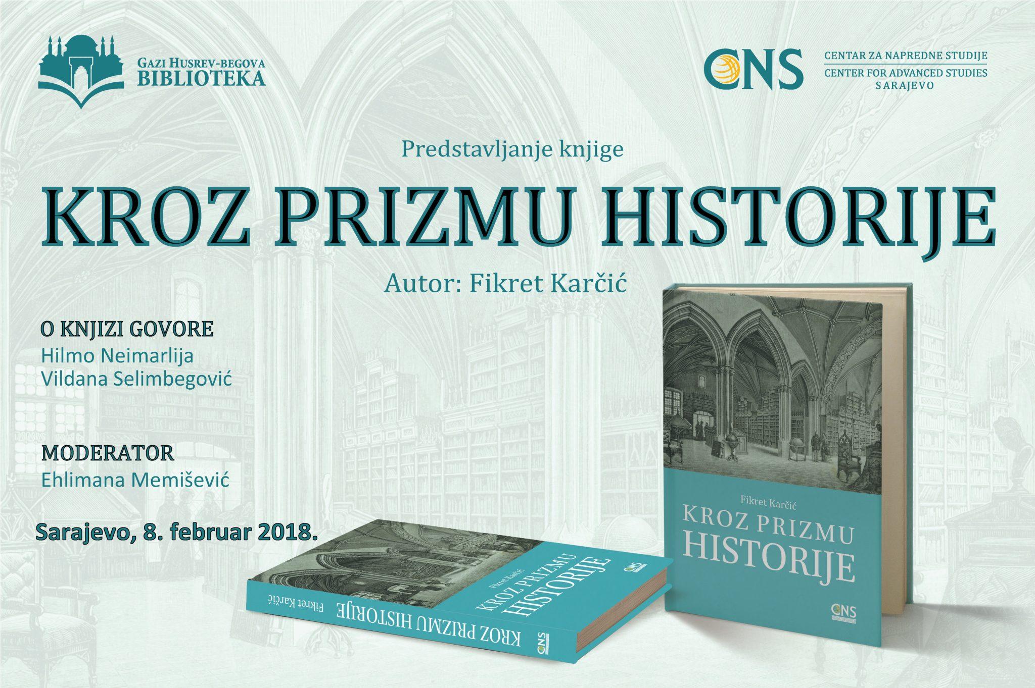 Promocija nove knjige prof. Fikreta Karčića