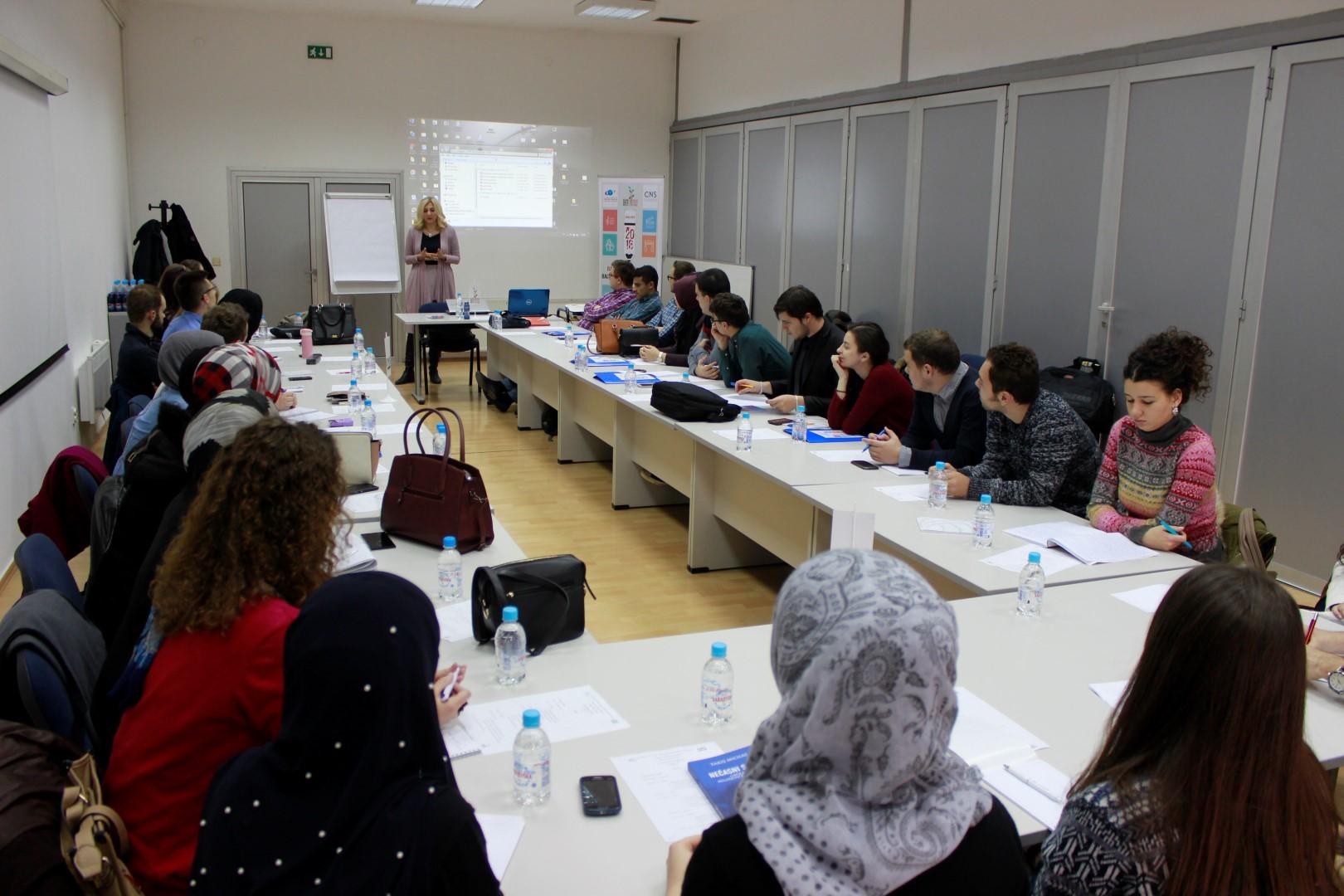 Balkanska škola za mlade: radionica