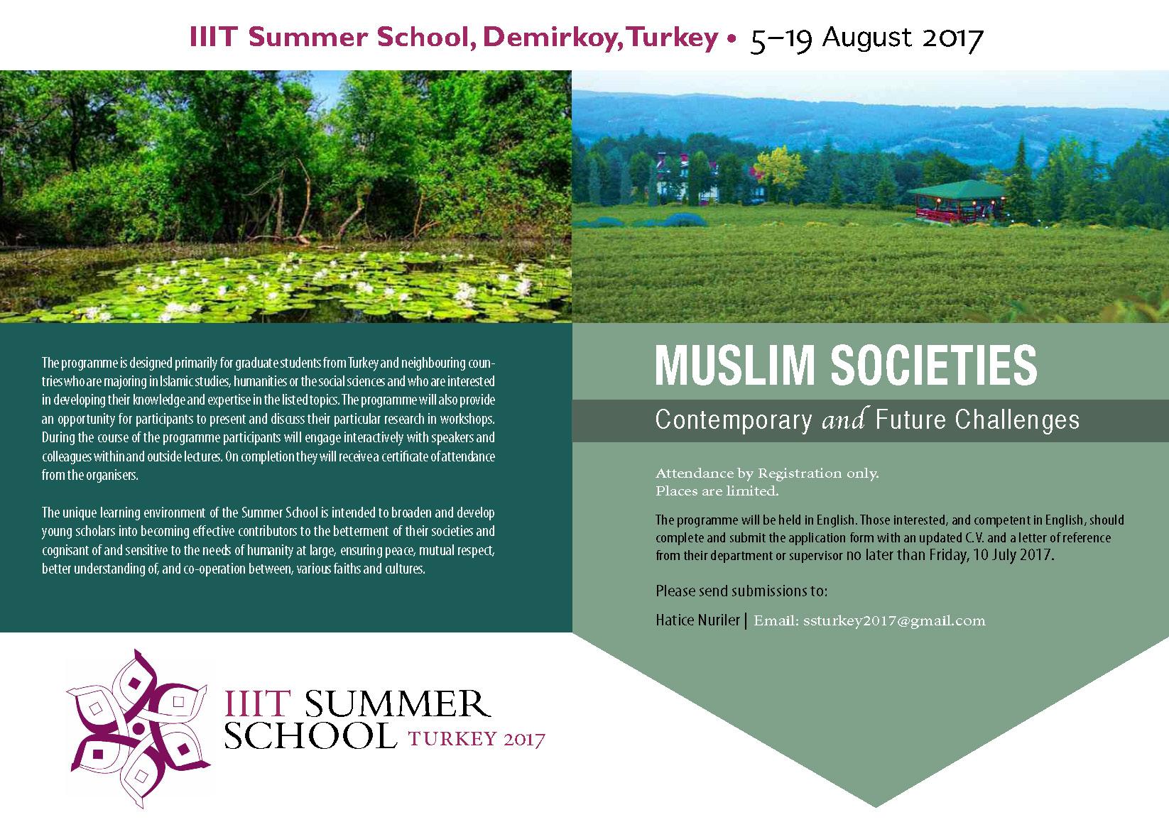 IIIT Summer School, Turkey