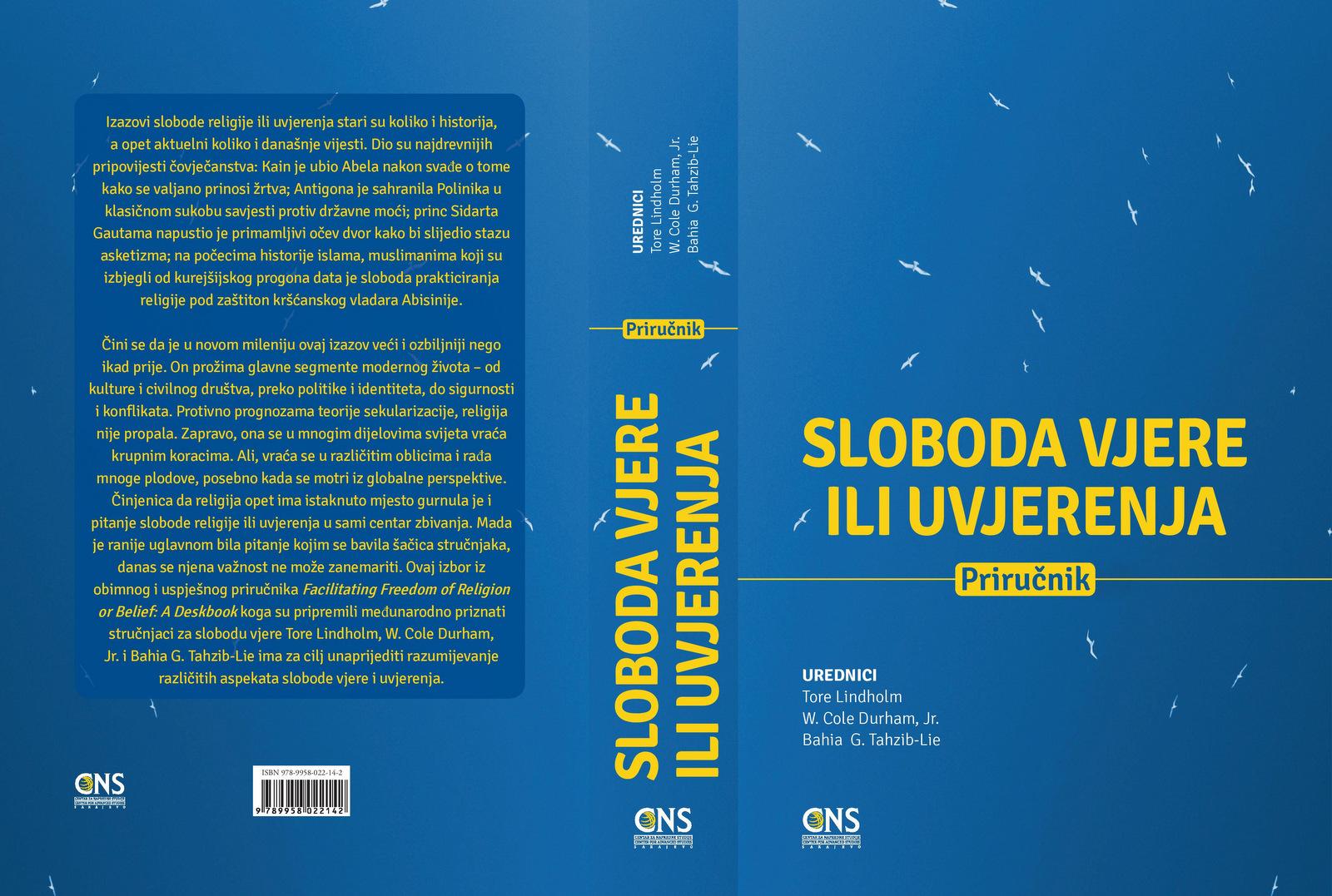 PRIKAZ: Bosanska verzija priručnika o slobodi vjere ili uvjerenja