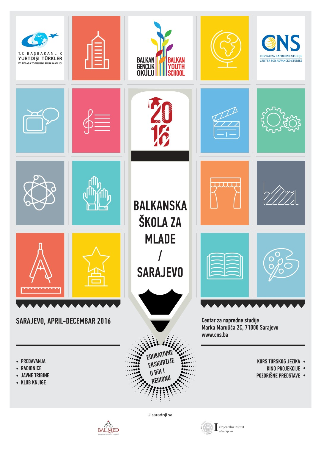 Počela Balkanska škola za mlade
