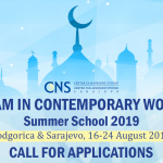 call-for-applications-islam-in-contemporary-world-summer-school-2019