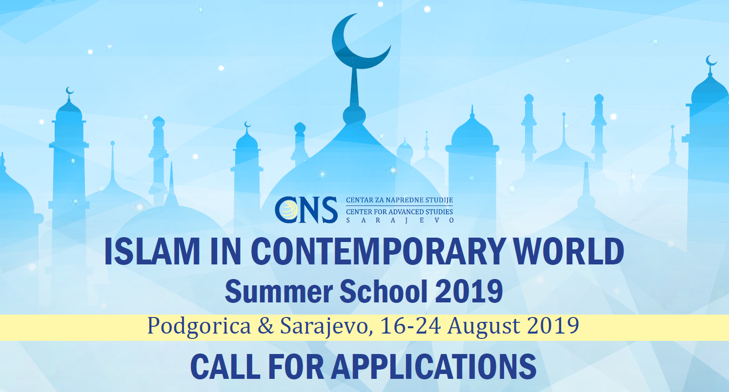 Call for Applications: Islam in Contemporary World Summer School 2019