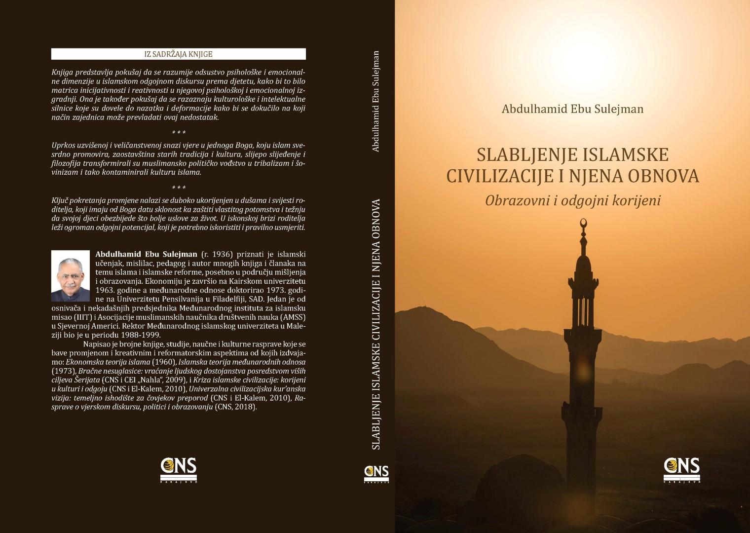 Novo izdanje: Slabljenje islamske civilizacije i njena obnova