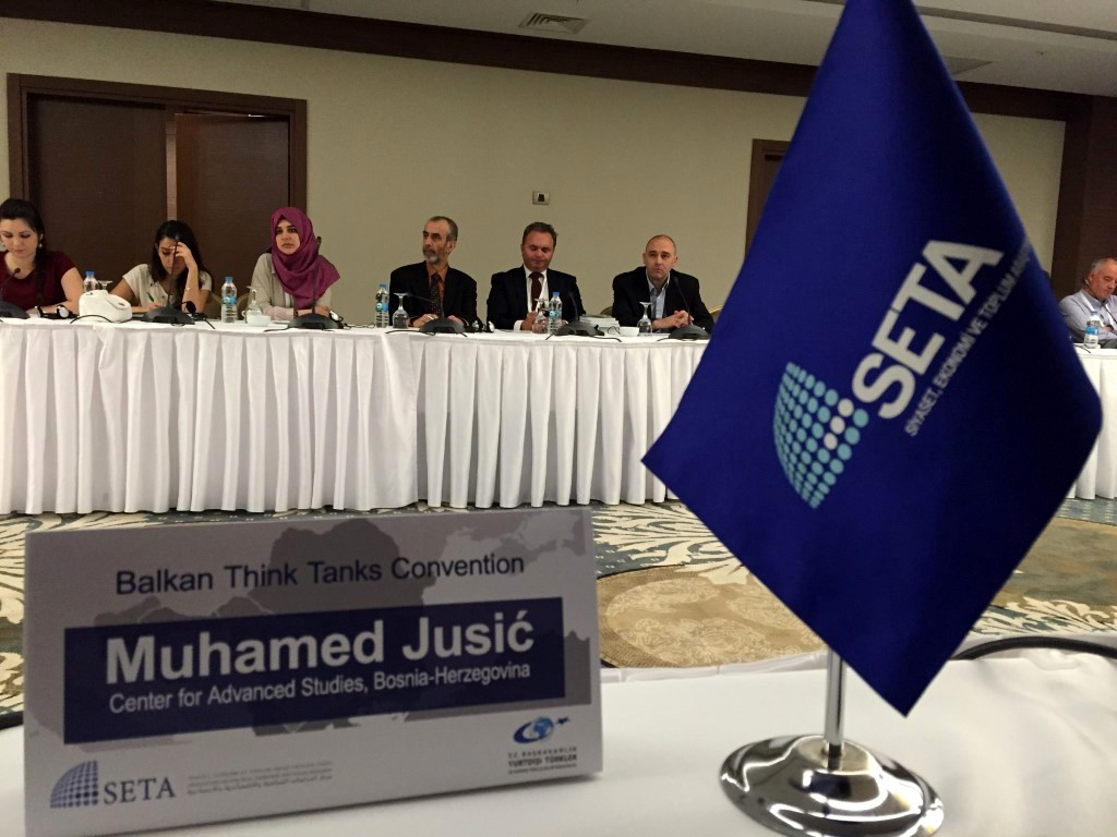 Centar za napredne studije na SETA-inoj konvenciji balkanskih think-tankova