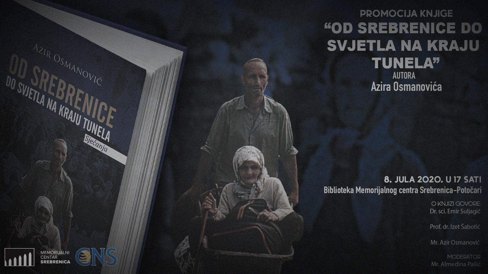"""Promocija knjige """"Od Srebrenice do svjetla na kraju tunela"""" autora Azira Osmanovića"""
