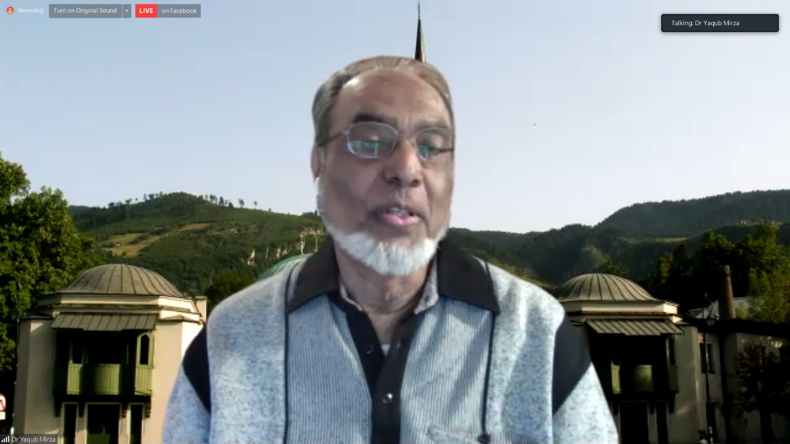 Održan webinar Pet stubova blagostanja sa dr. Yaqubom Mirzom