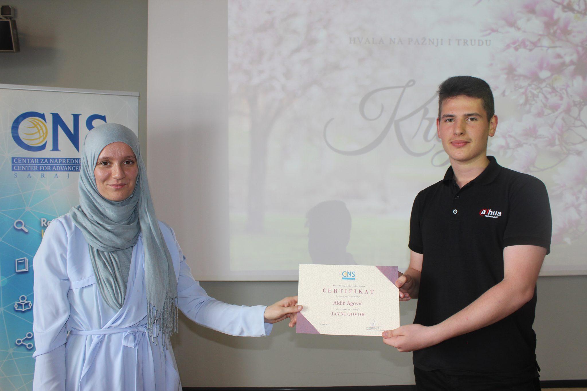 Sarajevo: Održan trening Javni govor